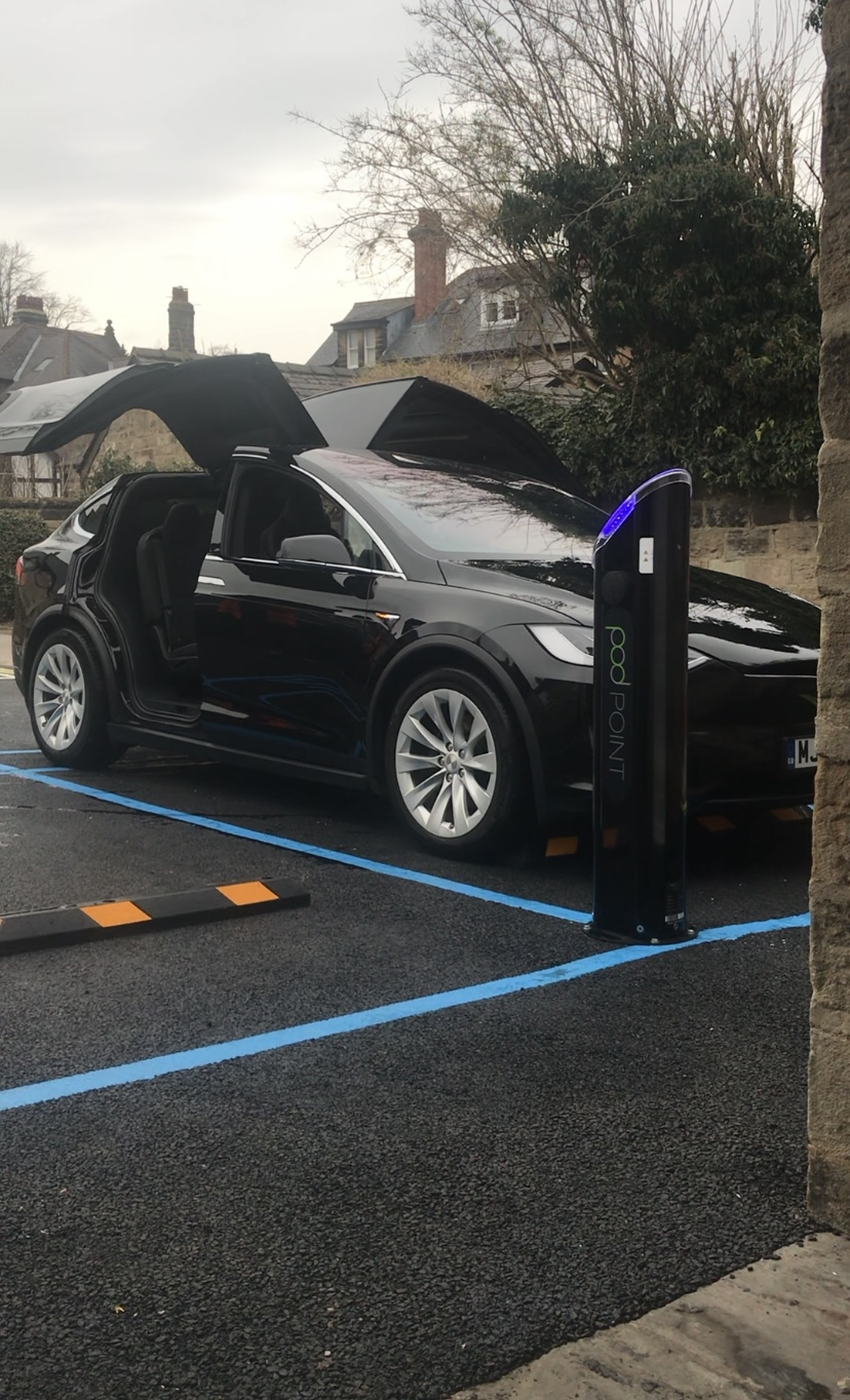Pod-Point Charge Points - Home Car Charging Solution