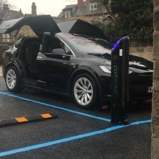 Hybrid EV Car Charging - Downtown Electrical