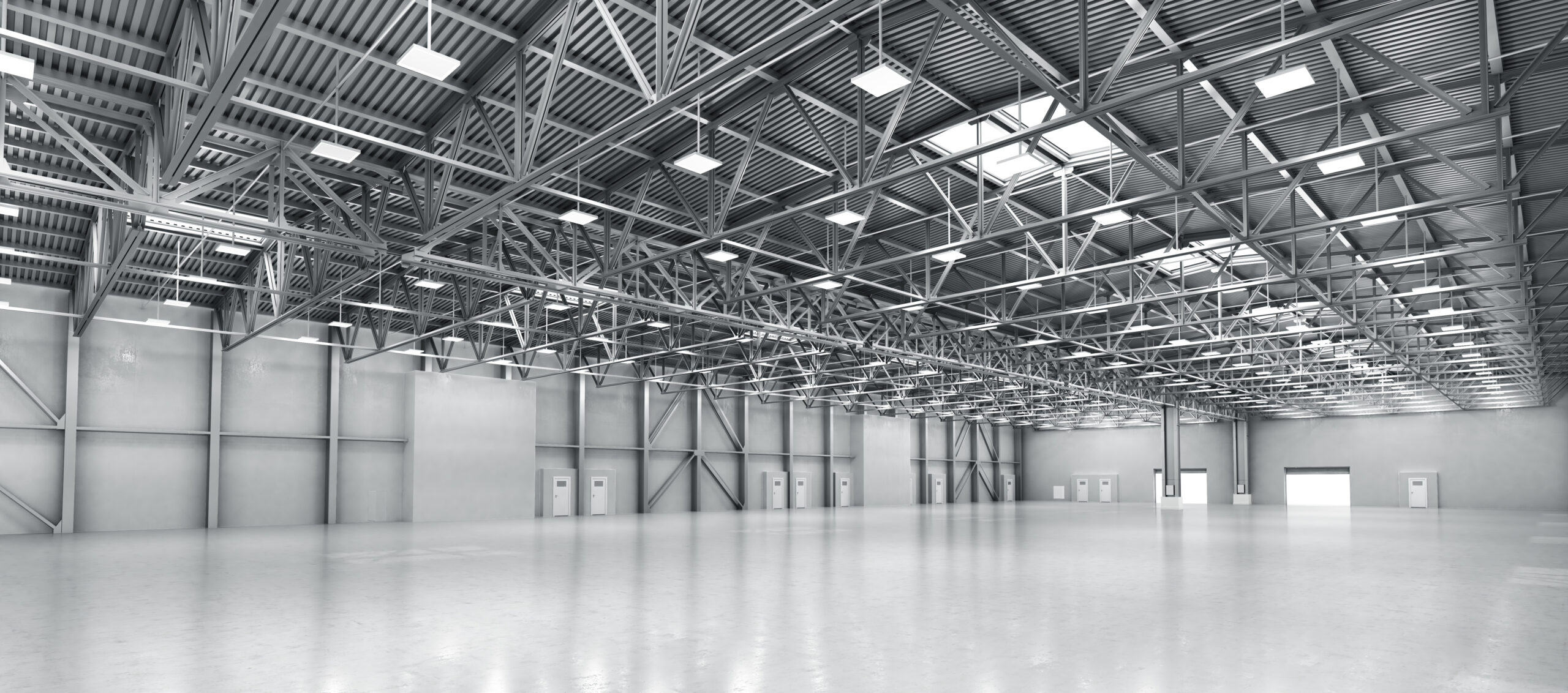 Empty Warehouse - Downtown Electrical